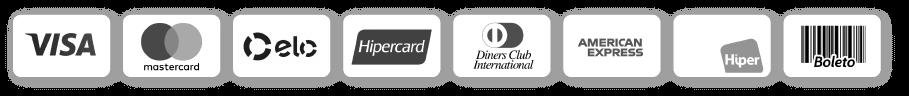 Cartões aceitos no DOK Despachante