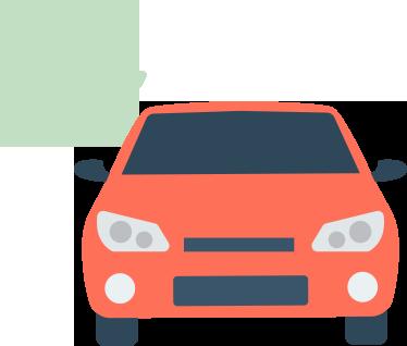 atpv-e DOK Despachante, illustração de um carro