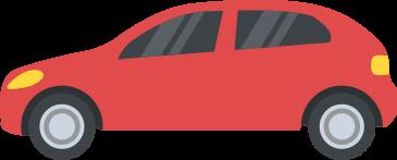 código de trânsito brasileiro dok despachante, ilustração carro vermelho