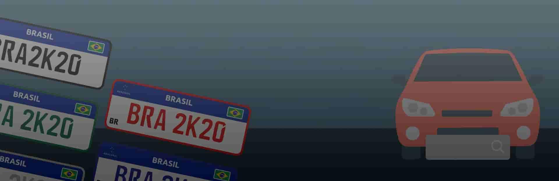 Banner: placa de carro dok despachante
