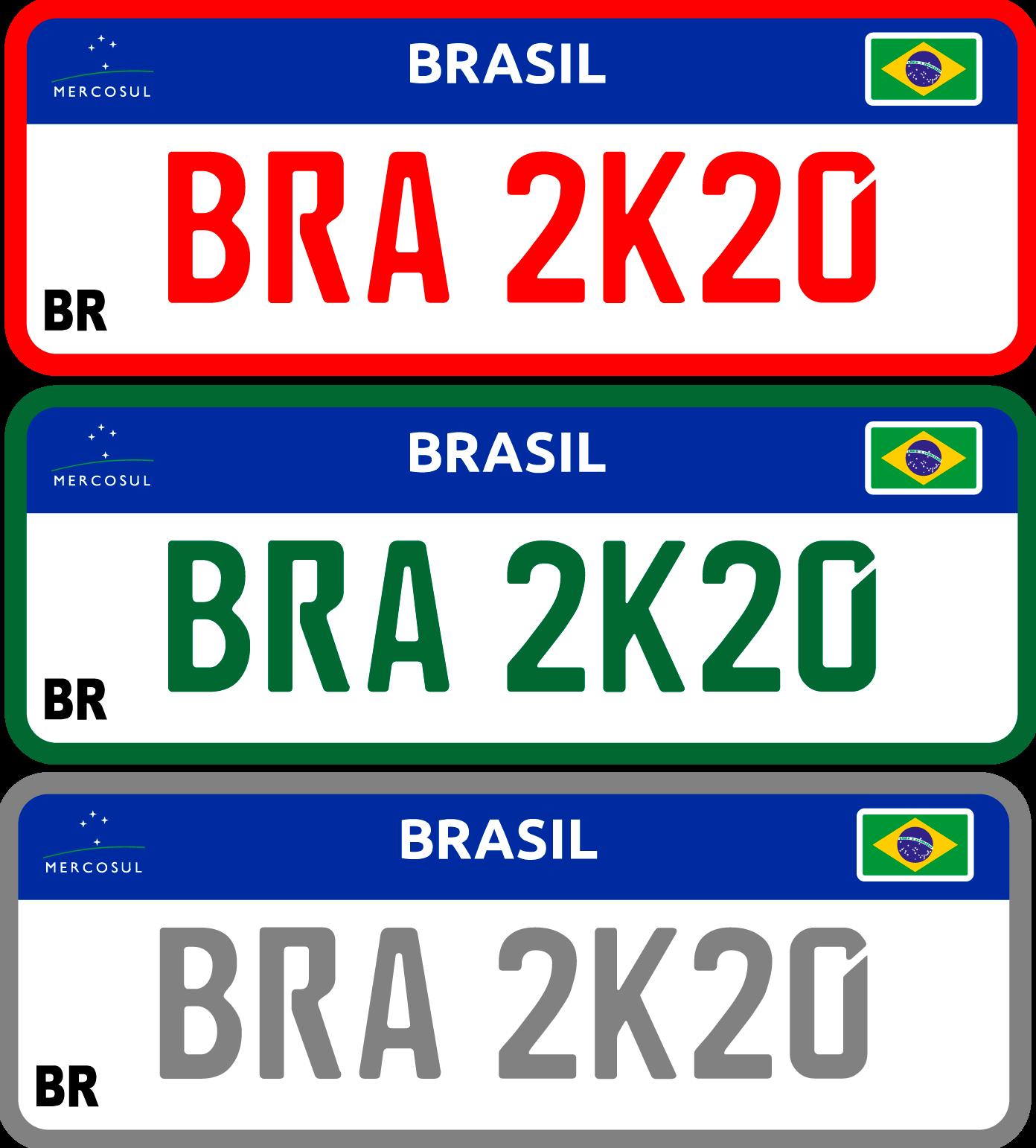 placa de carro dok despachante: placas