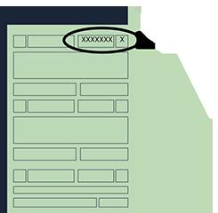 Ilustração de um documento