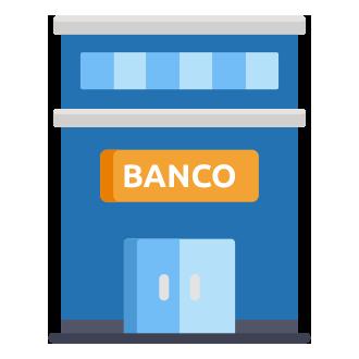 licenciamento pr DOK Despachante, illustração de um banco