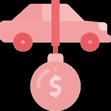 Antt DOK Despachante, ilustração de um carro bloqueado