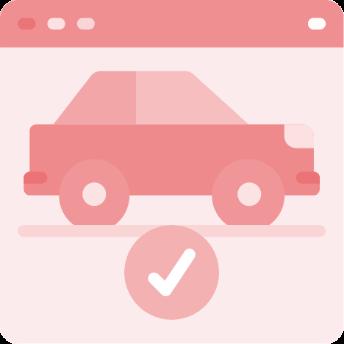 Antt DOK Despachante, ilustração de um carro com um sinal de certo