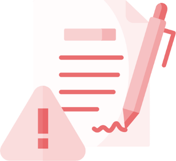 Antt DOK Despachante, ilustração de um papel com uma caneta