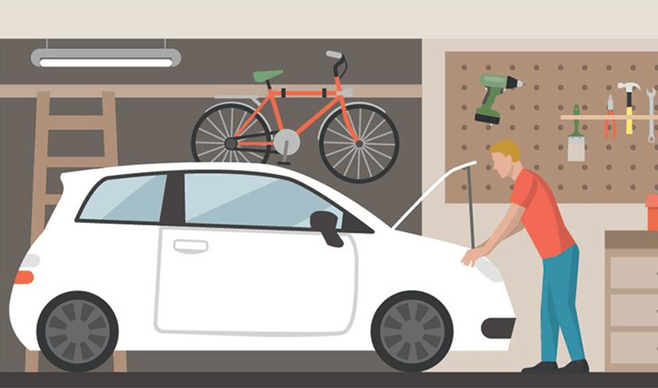 Aprenda a fazer o decalque do chassi e motor de seu veículo