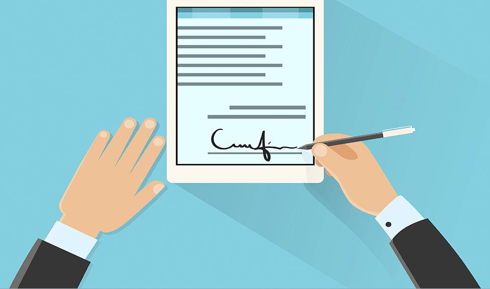Atenção: assinatura do comprador com firma reconhecida no CRV passa a ser obrigatória no DETRAN