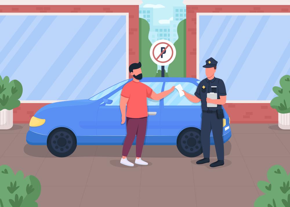 multa por estacionar em local proibido dok despachante