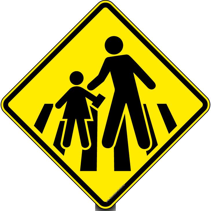 sinais de trânsito dok despachante pedestre escolar